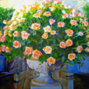 Roses At Table Bay Art Print