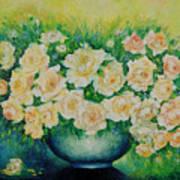 Roses. Art Print