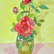 Roses For Dorothy Art Print