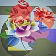 Roses For Her Art Print