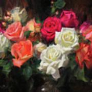 Roses For Kim Art Print