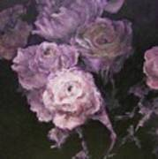Roses In Mauve Art Print