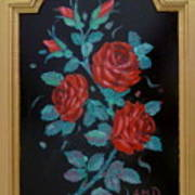 Roses In The Classic Style Art Print