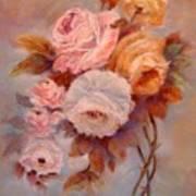 Roses Study Art Print