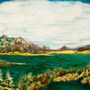Roslyn Harbor Art Print