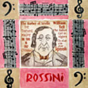 Rossini Portrait Art Print