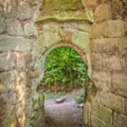 Rosslyn Castle Forest Entry Art Print