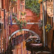 Rosso Veneziano Art Print