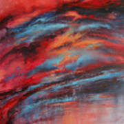 Rosy Glow Art Print