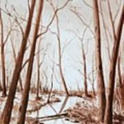 Rotary Bog Art Print