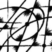 Rotation Axis Art Print