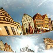 Rotenburg In A Tuba Art Print