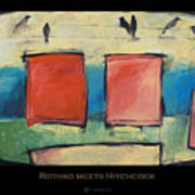 Rothko Meets Hitchcock - Poster Art Print