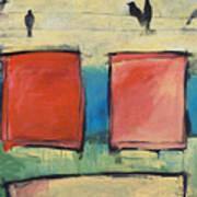 Rothko Meets Hitchcock Art Print