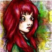 Rotschopf Art Print