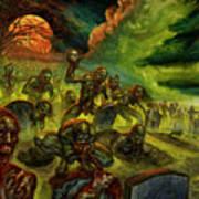 Rotten Souls Taint The Land Art Print
