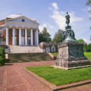 Rotunda, University Of Virginia Art Print