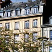 Rouen Half Timbered 22 Art Print