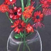 Rouge Et Noir Art Print