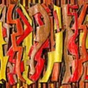 Rough Lumber Art Print