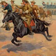 Rough Riders Cavalry Art Print