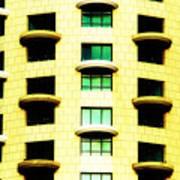Round Balconies Art Print