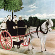 Rousseau: Cart, 1908 Art Print