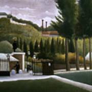 Rousseau: House, C1900 Art Print