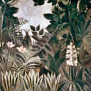 Rousseau: Jungle, 1909 Art Print