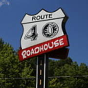 Route 40 Roadhouse Art Print