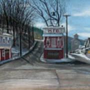 Route 6 Meshoppen Pa Art Print