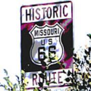 Route 66 2 Art Print