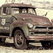 Route 66 Chevy Tumbleweed - #3 Art Print