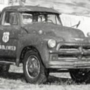 Route 66 Chevy Tumbleweed - #5 Art Print