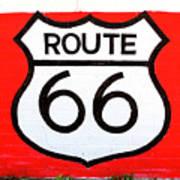 Route 66 Mural Art Print