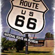 Route 66 Museum - Impressions Art Print