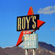 Route 66 - Roy's Of Amboy California Art Print