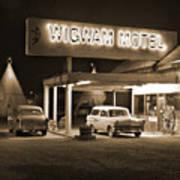 Route 66 - Wigwam Motel Art Print