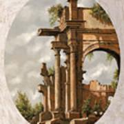 Rovine Romane Art Print