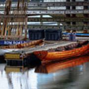 Row Boat Rental Art Print