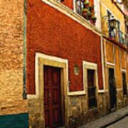 Row Of Casas Guanajuato Art Print