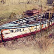 Rowboat Modified Art Print