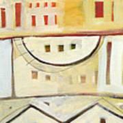 Rowhouse No. 1 Art Print