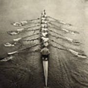 Rowing Team, C1913 Art Print