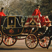 Royal Carriage Art Print
