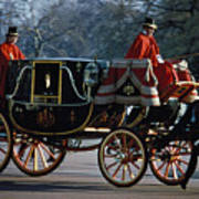 Royal Carriage In London Art Print