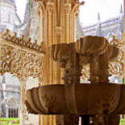 Royal Cloister Of The Batalha Monastery Art Print