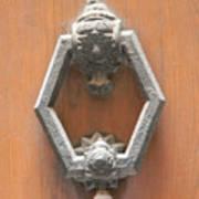 Royal Door Knocker Art Print