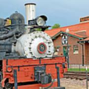 Royal Gorge Train And Depot Art Print