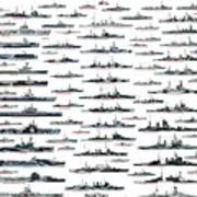 Royal Navy Ww2 Art Print